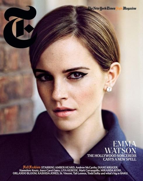 Emma Watson New York Times Magazine